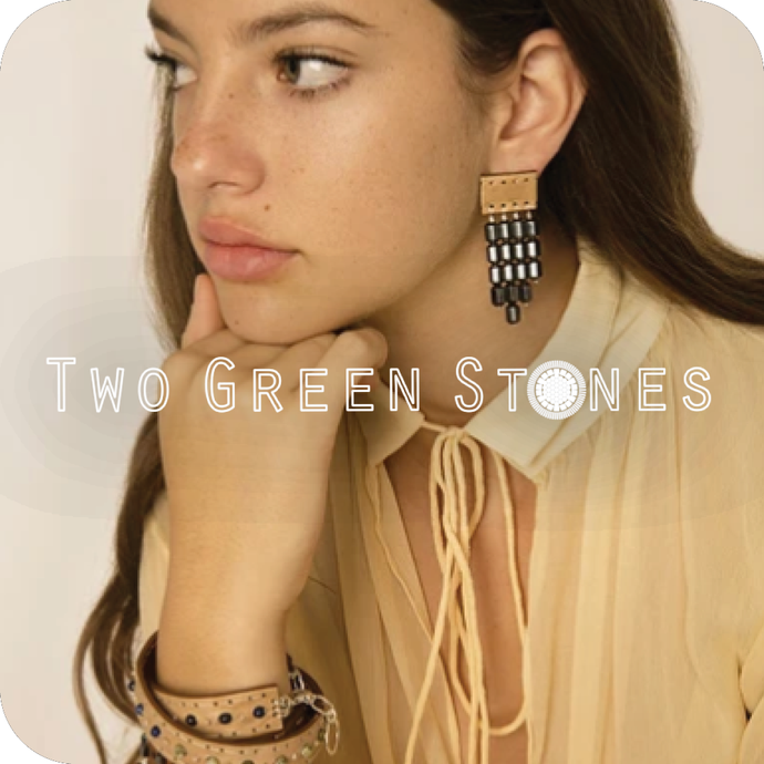 Two Green Stones