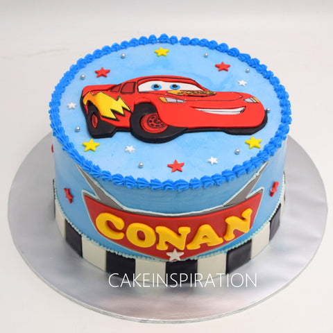 Surface 2D Art Cake Collection .Design 7.  .sport cars 2D photocake  theme design cake