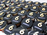 CORPORATE COLLECTION / BLUE BLACK CUPCAKES ORDER FROM SAMSUNG FOR S6 NEW HP LAUNCH