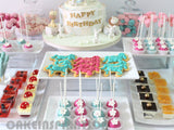 CUSTOMIZED dessert table COLLECTION / CAROUSEL THEME PROPOSAL / A BEAUTIFUL PINK CAROUSEL