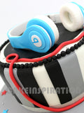 CUSTOMIZED CHILDREN  COLLECTION / TEEN / BEATS HEADPHONE 3D CAKE / BOYS / 3D