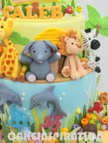 CHILDREN  COLLECTION /Garden daisy theme w rainbow / safari animals / under water sea theme