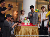 CUSTOMIZED 3d cake COLLECTION / corporate  /LION CORP CAKE WITH MEDIACORP