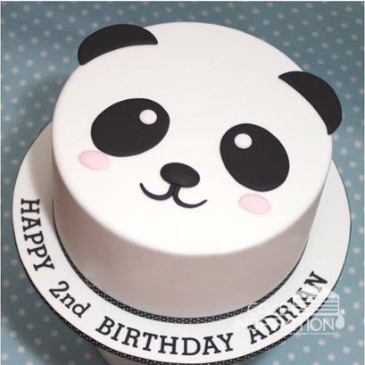 ANIMALS CREAM SERIES - CREAM ART CAKE - Panda design 15
