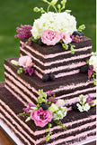Naked CAKES Square 3 tiers MODERN CAKES