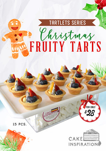 Canepes Tart-let Series , Christmas 15 pack specials
