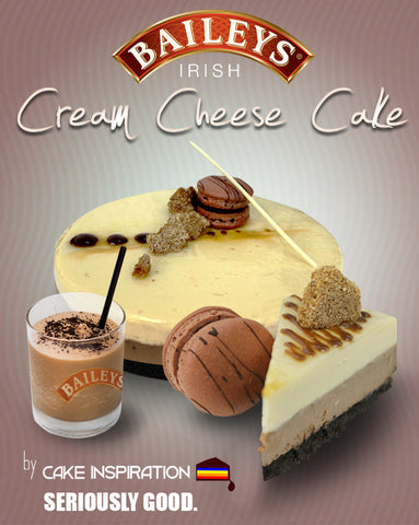 Baileys Irish Cream Cheese Cake Deluxe ( Premium Cake Series )