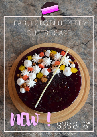American Blueberry cheese cake ( NEW)