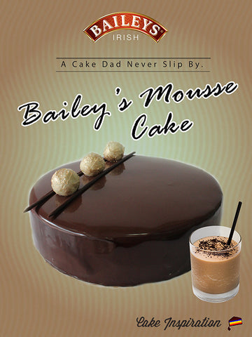 Bailey's Irish Cream Mousse Cake Deluxe