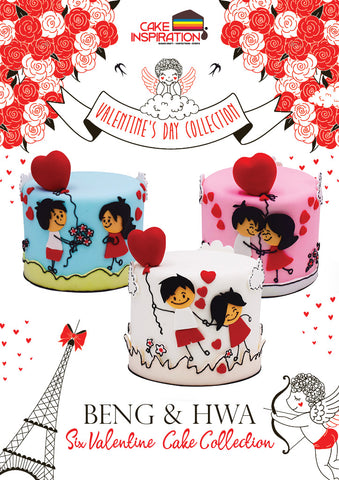 Six Beng & Hwa Fall in Love All Over Again Cute Valentine Cake Collection