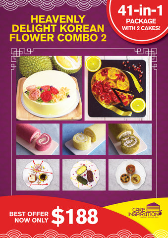 Heavenly Delight Korean Flower Combo 2 41-in-One Set