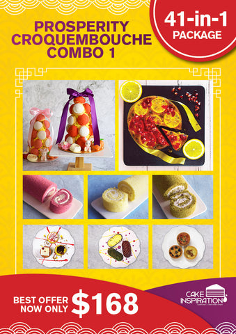Prosperity croquembouche Combo 1 41-in-One Set