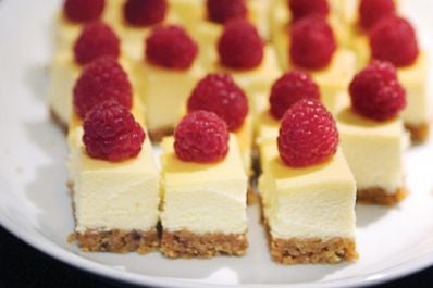 Mini cheese cake collections