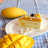 Midnight Mango Mousse Cake  ( NEW ) with mango chunks