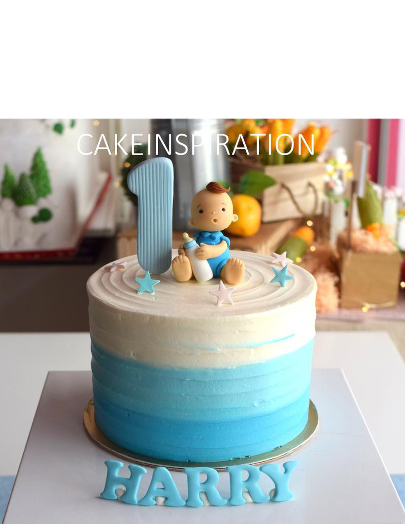 Design R Cute Baby Boy Toppers Cake Children Customized D I Y