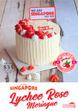 NDP DESIGN A - LYCHEE ROSE MERINGUE CREAM ROMANCE IN SINGAPORE CAKE