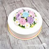 FCS – 01 Cream Floral Series (Cream Art)