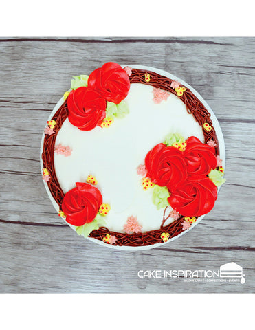 FCS – 07 Cream Floral Series (Cream Art)