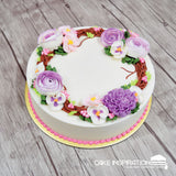 FCS – 09 Cream Floral Series (Cream Art)