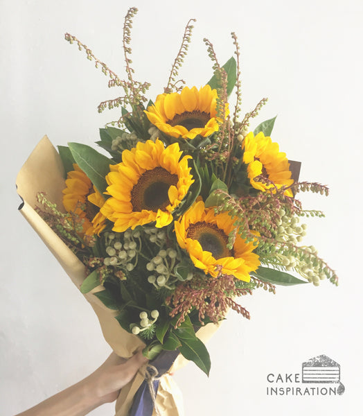 MY SUNSHINE SUNFLOWER BOUQUET
