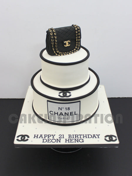 3d cake COLLECTION / corporate /wedding / Chanel vintage designer cake Singapore / 21st birthday