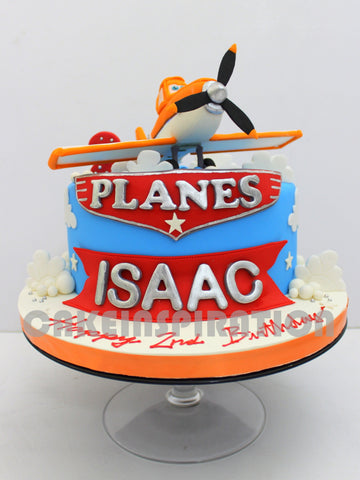 CUSTOMIZED CHILDREN  COLLECTION / Plane 3d cake
