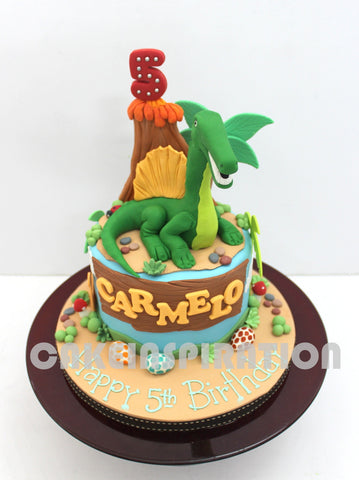 CUSTOMIZED CHILDREN COLLECTION /dinosaur theme cake / jungle theme cake / cake for boys