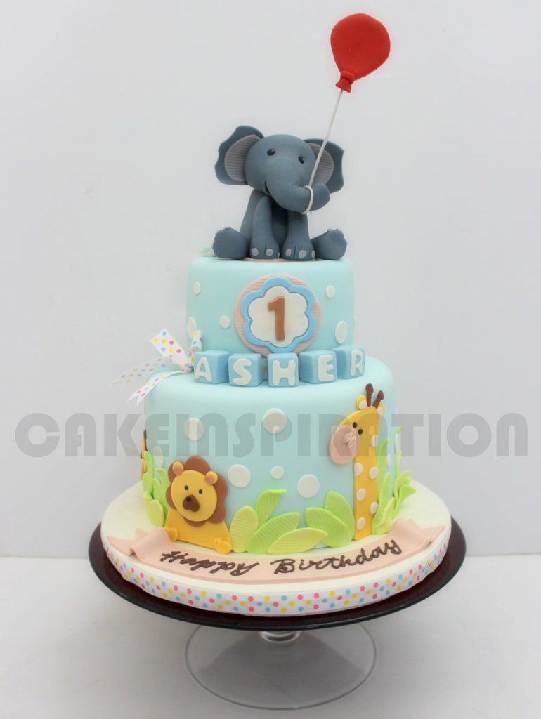 Customized Children Collection Baby Elephant Cute Animals Theme 2