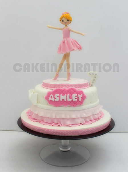 CUSTOMIZED CHILDREN COLLECTION /ballerina theme girls cake Singapore