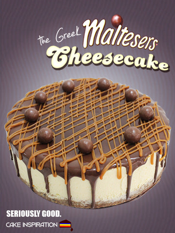 Malteser Greek Cheesecake ( best Seller )