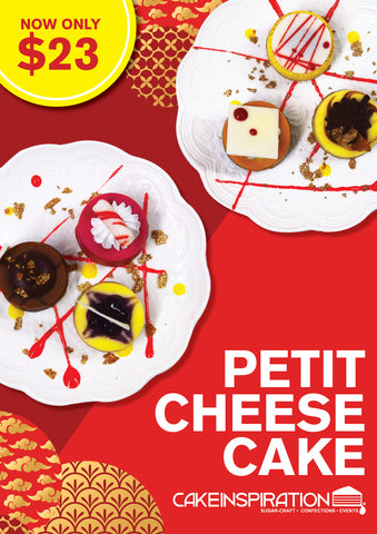 CNY Assorted Petit Cheesecake