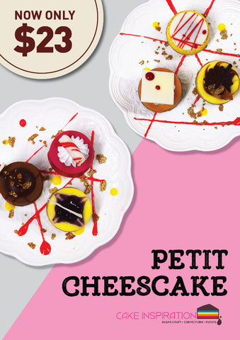 Assorted Petit Cheesecake