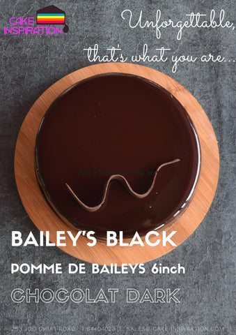 Bailey's Black - Rum & Bailey's Coffee Black POMME DE BAILEYS CHOC DARK