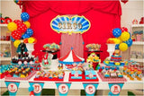 dessert table COLLECTION / CARNIVAL THEME PROPOSAL / A CIRCUS THEME DESSERT TABLE
