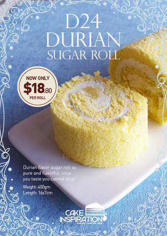 D24 Durian Sugar Roll