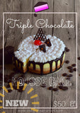 Gâteau triple au chocolat français - Triple chocolate cake ( NEW)