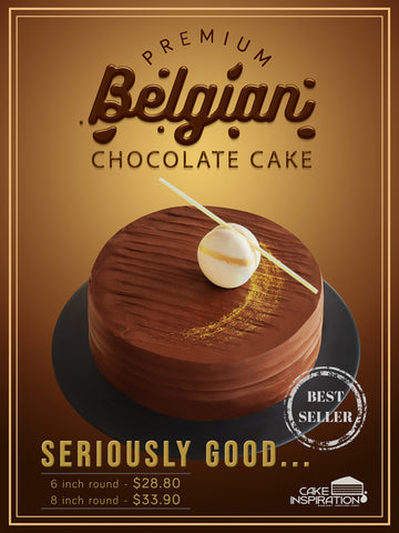 Belgian French Chocolate Cake ( All time best seller )