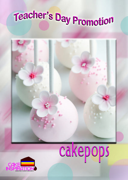 Teacher's Day Cake Pop Set Pastel Sweet edition