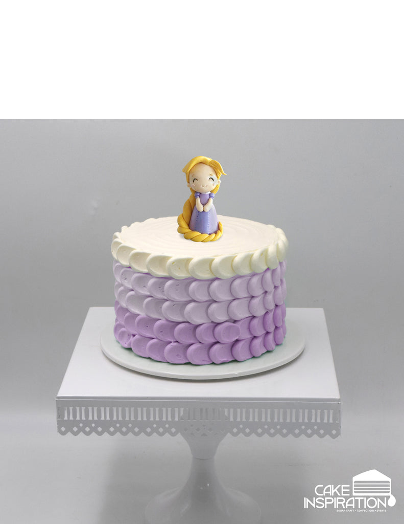 Design J CUTE PRINCESS RAPUNZEL CREAM CAKE