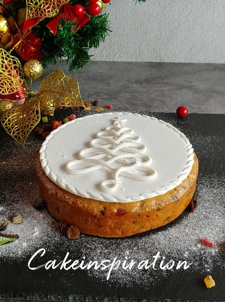 Christmas Fruit cake with Cinnamon and Spice Rum