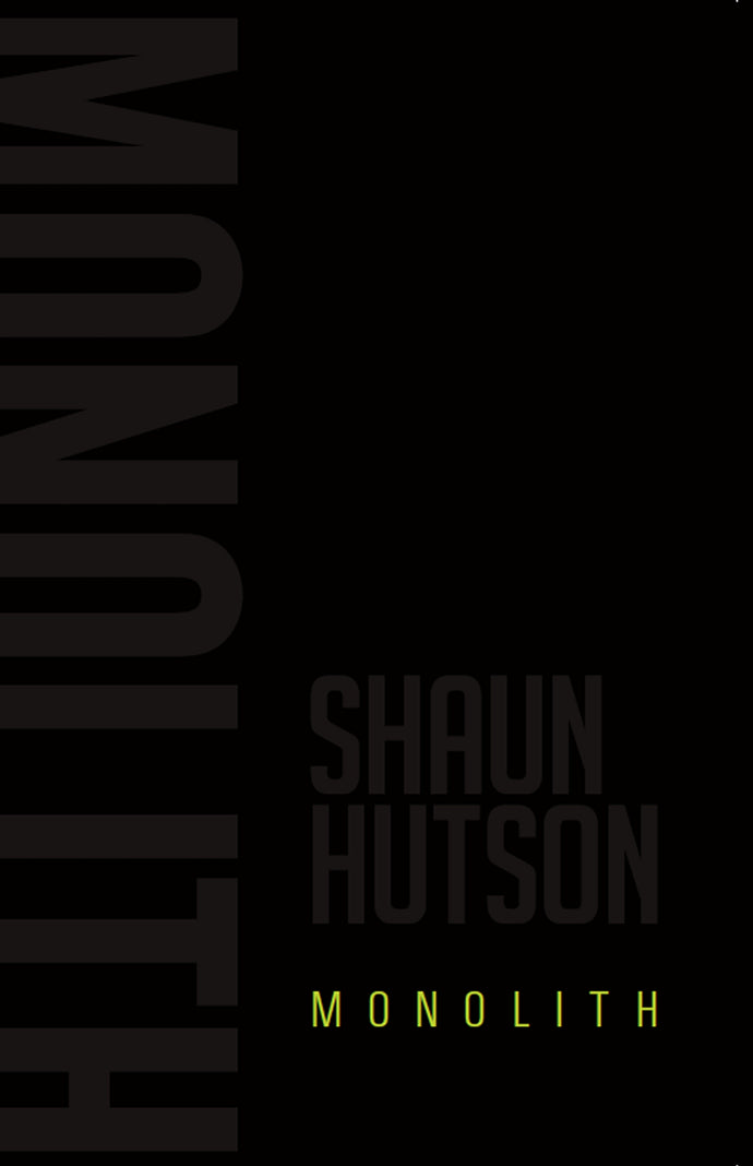 Monolith Book by Shaun Hutson - A Horror Fiction Book Online