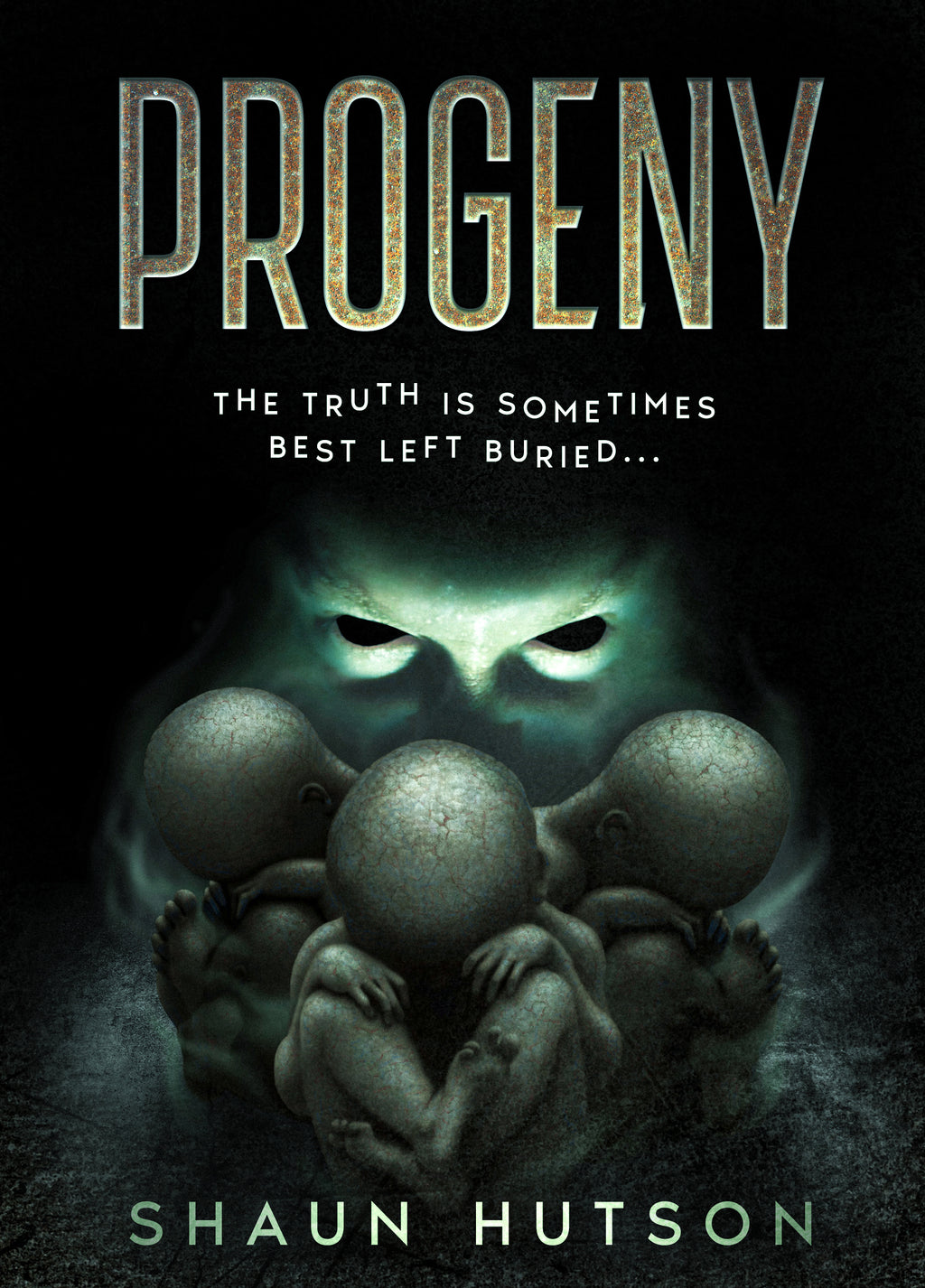 PreOrder Progeny - new signed copies of hardback horror by horror legend, Shaun Hutson - Caffeine Nights Books