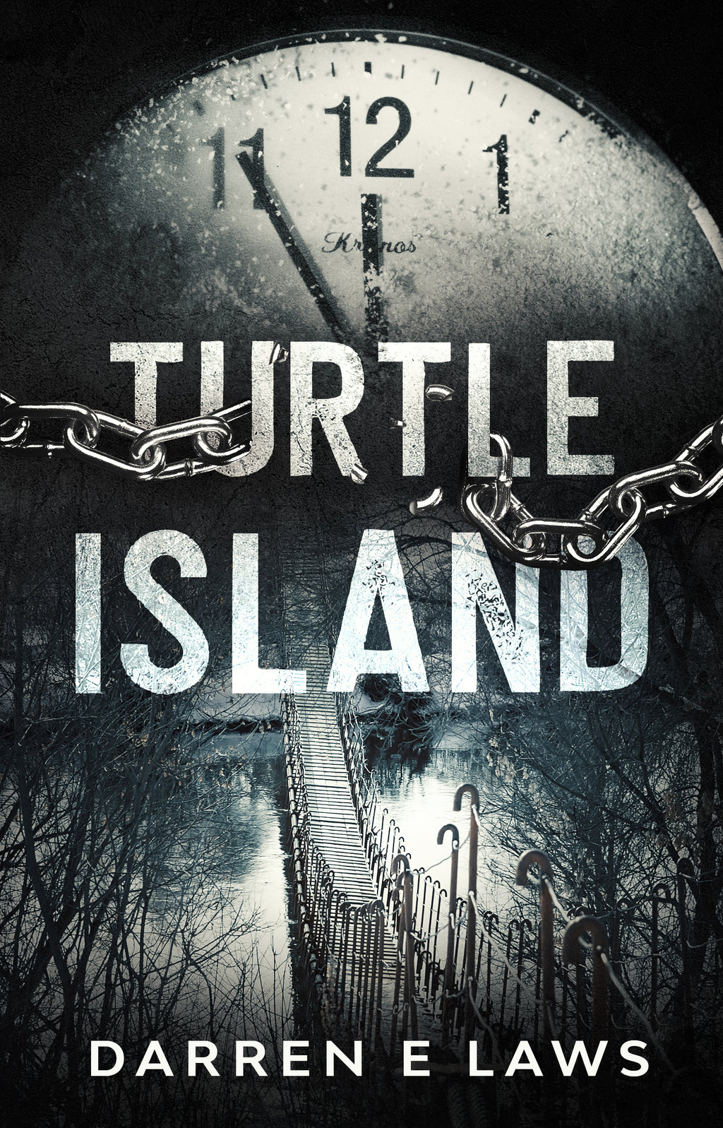 PreOrder - Turtle Island - 20th Anniversary edition - Crime horror from Darren E Laws - Caffeine Nights Books
