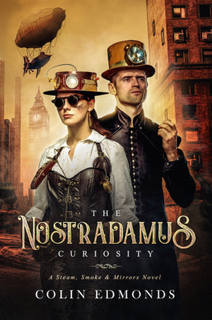 The Nostradamus Curiosity - Colin Edmonds - Caffeine Nights Books