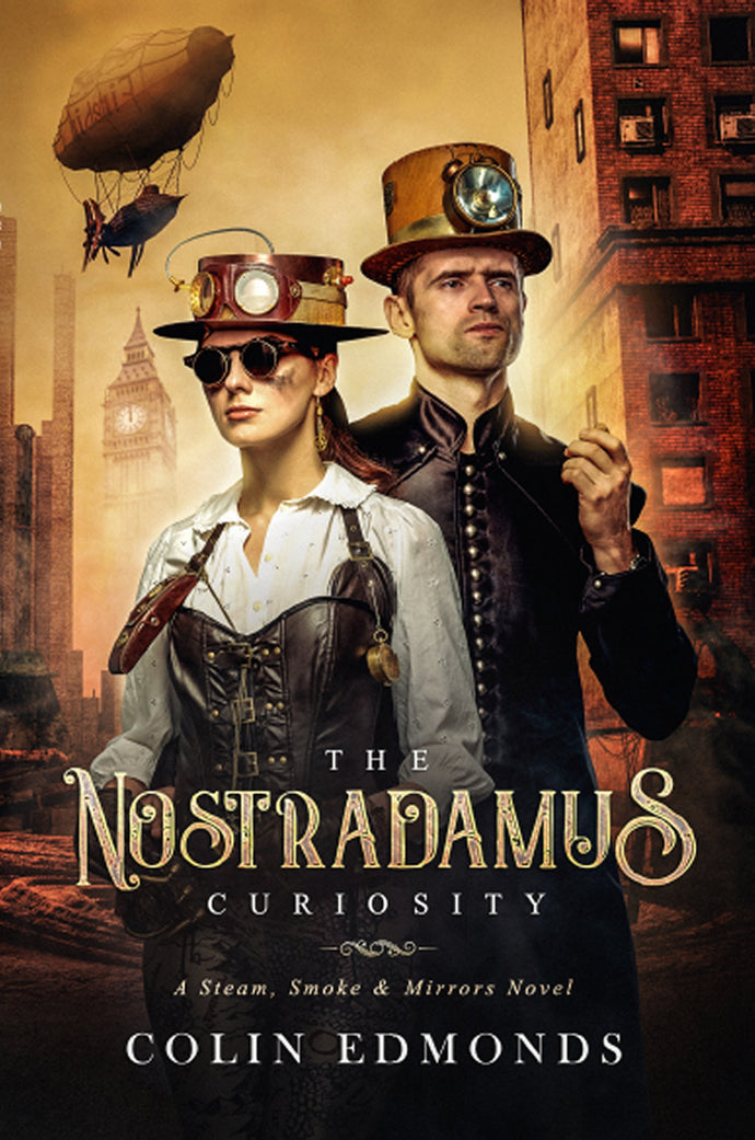 The Nostradamus Curiosity Book By Colin Edmonds - Best Action Book