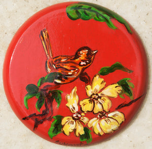 Coaster Bird (each piece)