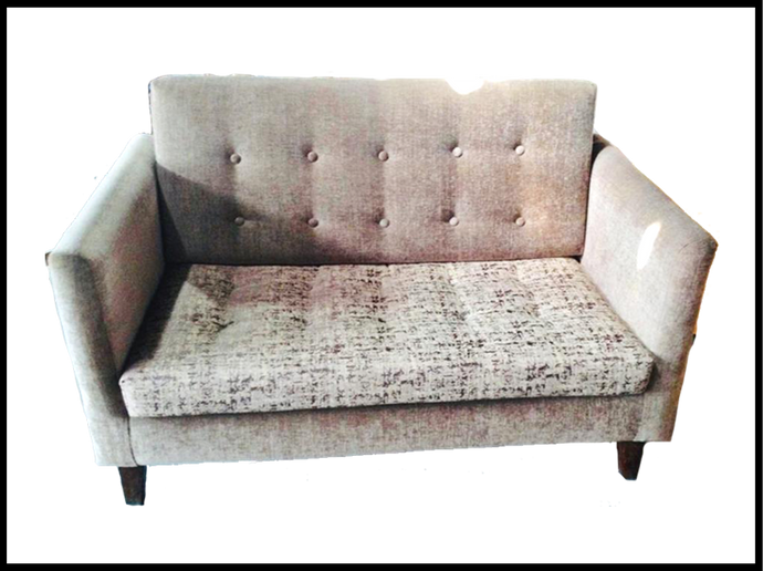 Quilted 2 Seater Sofa