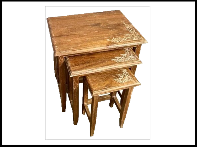 Marrie Gold Nest of Tables