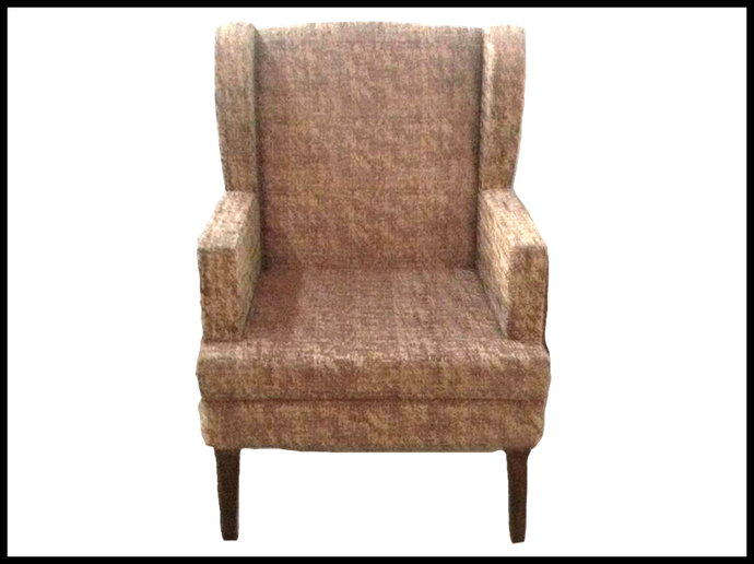 Brown Wing Chair