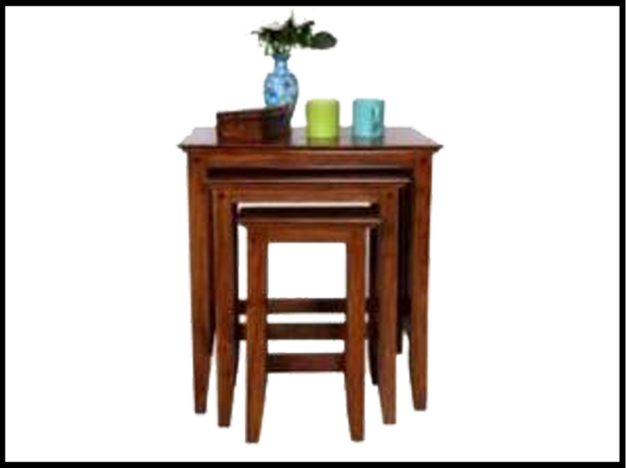 Country Nest of table (set of 3)